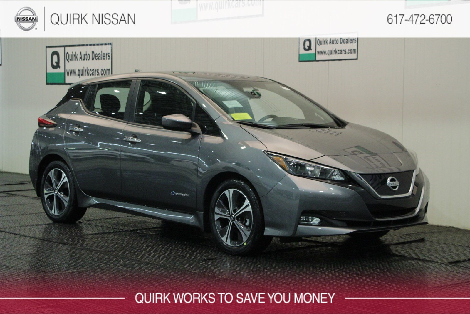 New 2019 Nissan Leaf Sv Hatchback In Quincy Ns41383 Quirk Nissan