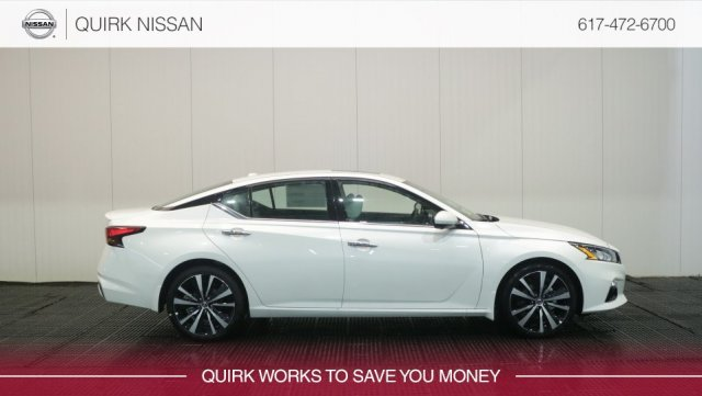 New 2019 Nissan Altima 2 5 Platinum FWD 4dr Car