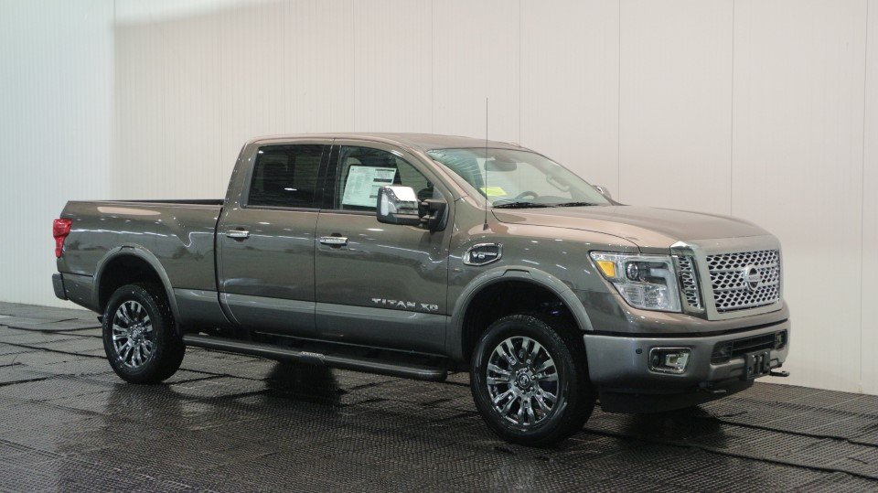 new 2018 nissan titan xd platinum reserve crew cab pickup in quincy ns39922 quirk nissan. Black Bedroom Furniture Sets. Home Design Ideas