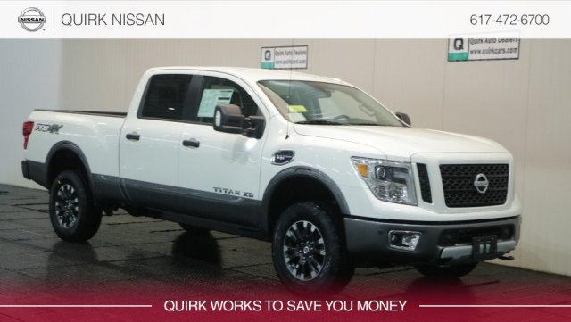 New 2019 Nissan Titan XD PRO-4X With Navigation & 4WD