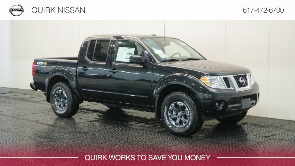 New 2018 Nissan Frontier Pro 4x Crew Cab Pickup In Quincy Ns40607