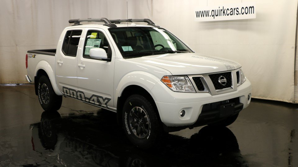 New 2017 Nissan Frontier Pro 4x Crew Cab Pickup In Quincy