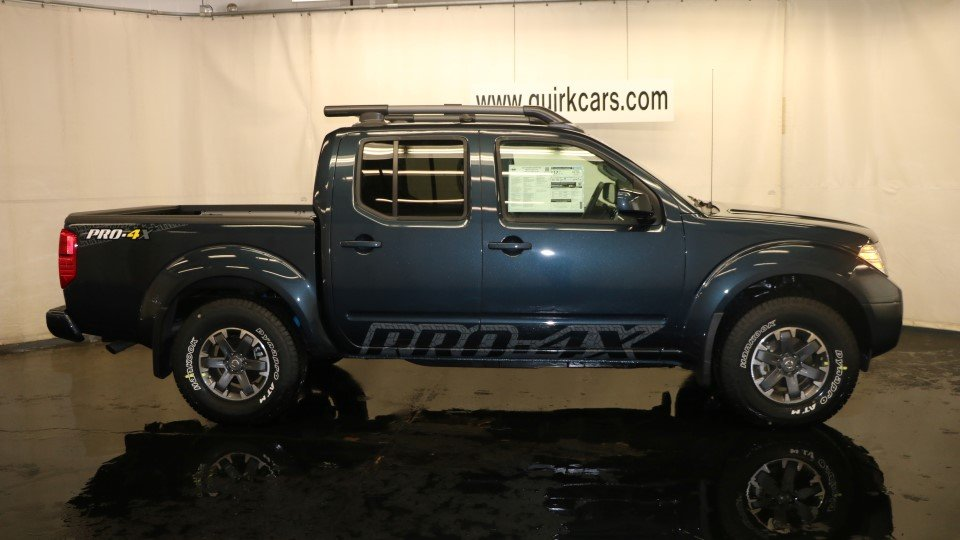 Nissan Frontier Pro 4x >> New 2017 Nissan Frontier Pro 4x Crew Cab Pickup In Quincy Ns38453