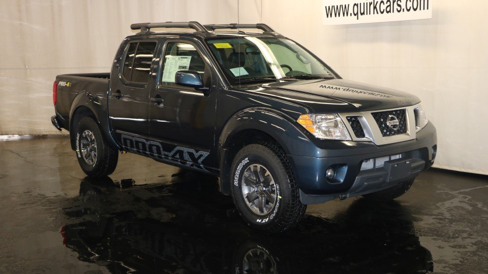 new 2017 nissan frontier pro 4x crew cab pickup in quincy ns38453 quirk nissan. Black Bedroom Furniture Sets. Home Design Ideas