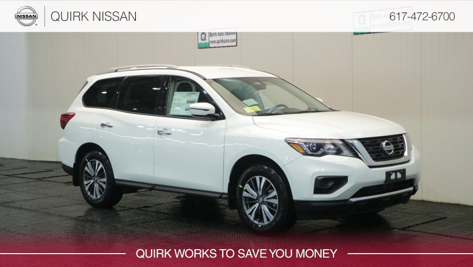 2019 Nissan Pathfinder S 4WD #5N1DR2MM9KC590602