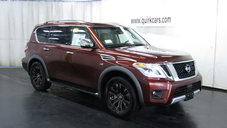 2017 Nissan Armada PLATINUM 4WD #26617.......Power Sliding Moonroof, Tri-Zone Entertainment System
