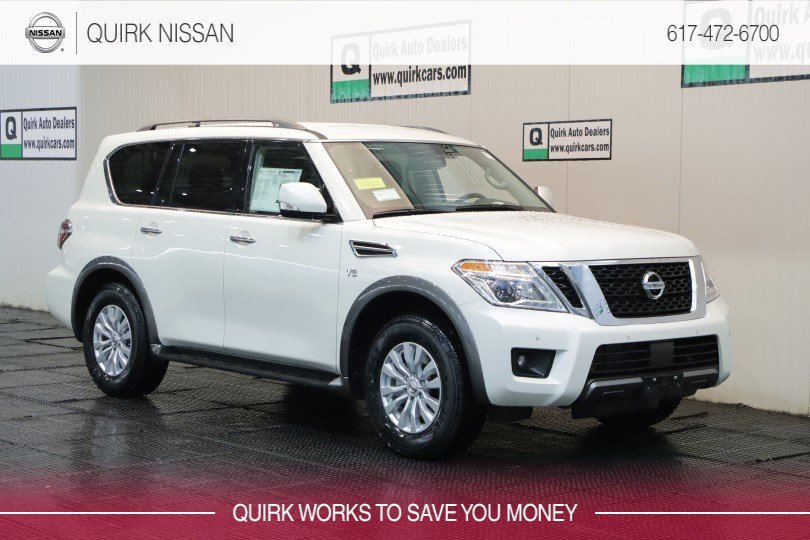 2019 Nissan Armada SV With Navigation & AWD #JN8AY2NC6K9584676