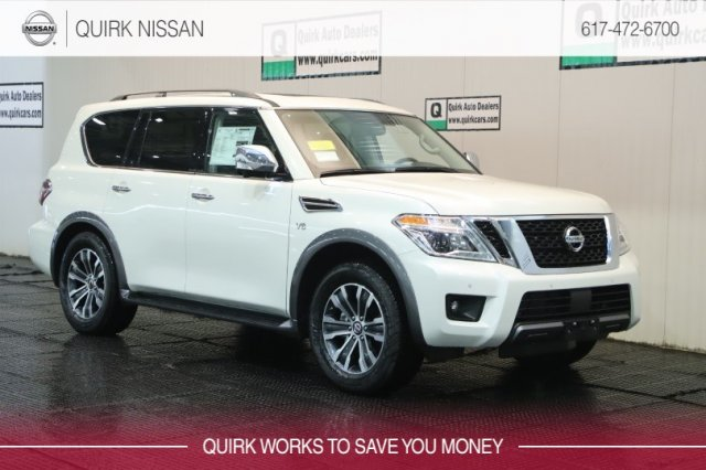 2019 Nissan Armada SL With Navigation & AWD #JN8AY2NC7K9588199