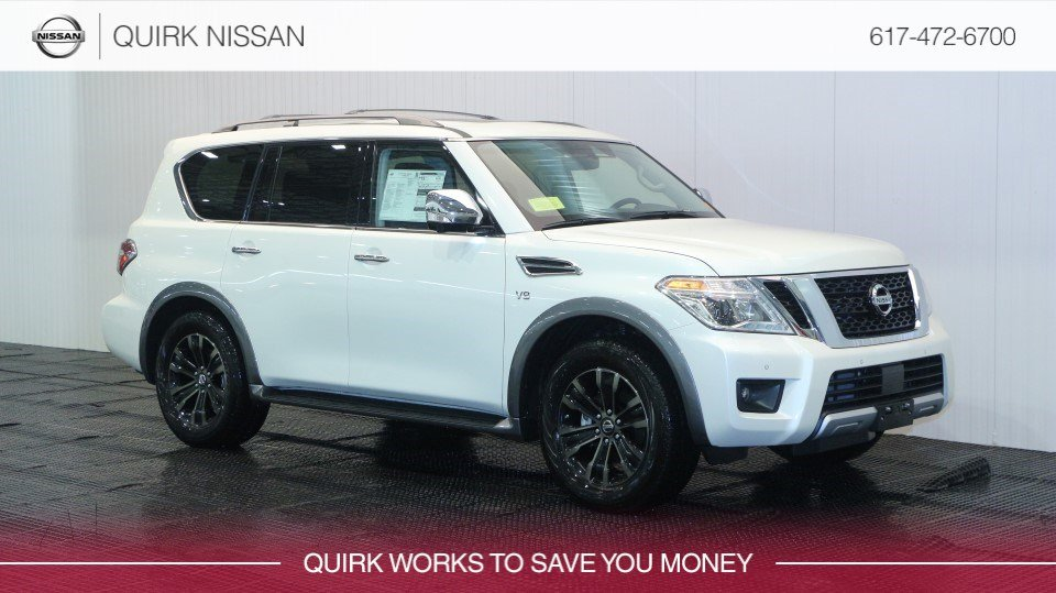 2018 Nissan Armada Platinum With Navigation & AWD # JN8AY2NC9JX500554