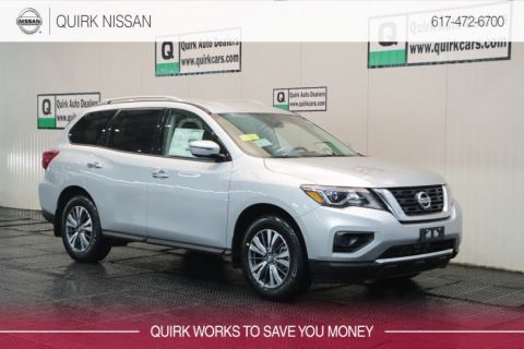 2019 Nissan Pathfinder S 4WD #5N1DR2MM8KC630118